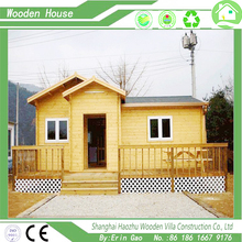 Eco-friendly prefab house wooden bungalow free design