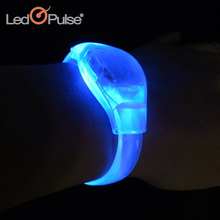 Halloween party led Glow bracelets novelty sound activated Led bracelets for party decoration