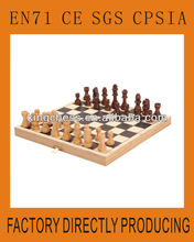 antique Wooden chess board set for indoor games P130506