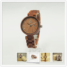 High quality new fashion alibaba hot products wood watch with a low MOQ
