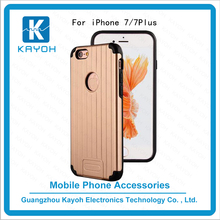 [kayoh]Wholesale Hair Line Armor Phone Case for iPhone 7, Soft Hard phone covers for iPhone 7 Case