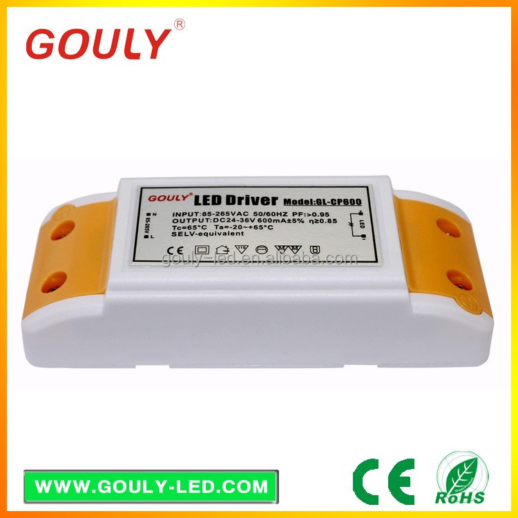 24V 0.6A constant voltage non-waterproof 24w LED driver transformer LED power driver