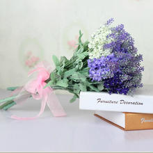 Wholesale silk flowers,artificial flower,fresh lavender flower(AM-880134)