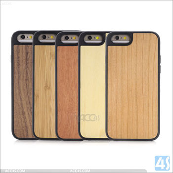 Hard wood cases for Iphone 6s, mobile phone wood cases for Iphone 6s