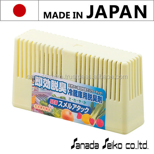 NEW SMELL ATTACK ( deodorant for refrigerator) | Sanada Seiko Chemicals High Quality made in japan | car deodorant