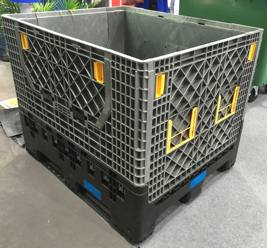 malaysia plastic collapsible box fold container folding Pallet