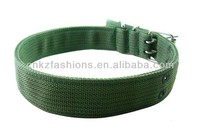 nylon webbing dog collar and leads, many colors available