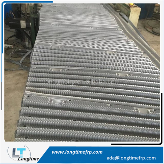 PVC Cooling Tower Fill Film Used For Evaporator Condenser