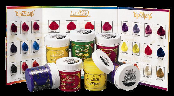 La Riche Directions Hair Dye Colour - Bright Funky Colours And Big Selection