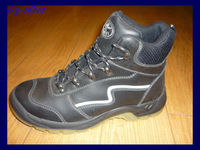 top quality black knight safety boots