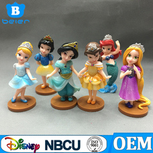 6 pz Principessa Figure Collection <span class=keywords><strong>Cenerentola</strong></span>, Belle, Biancaneve, Mermaid