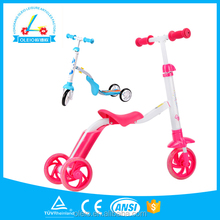 3 in 1 kids folding tricycle