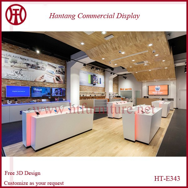 Free 3D Max Design Customized mall mobile phone shop interior design