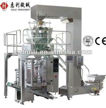 granule packing machine , tea packing machine with 4 head weigher