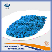 glaze stain pigment turquoise blue color