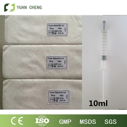 2016 Buttocks Augmentation/butt injections/ Injectable Hyaluronic Acid for Sale derm plus 10ml(made in china)