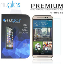 High definition clear transparency hyperboloid mobile phone tempered glass screen protector price for HTC