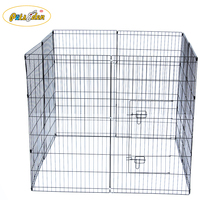 Retractable pet folding playpen Collapsible Galvanized Wire Dog Playpen