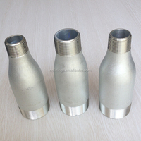 A106B Carbon Steel MSS-SP-95 Concentric/Eccentric Zinc Plating Reducing Swage Nipple length=6'' STD