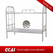 metal tube easy to install cheap specification of bunk bed