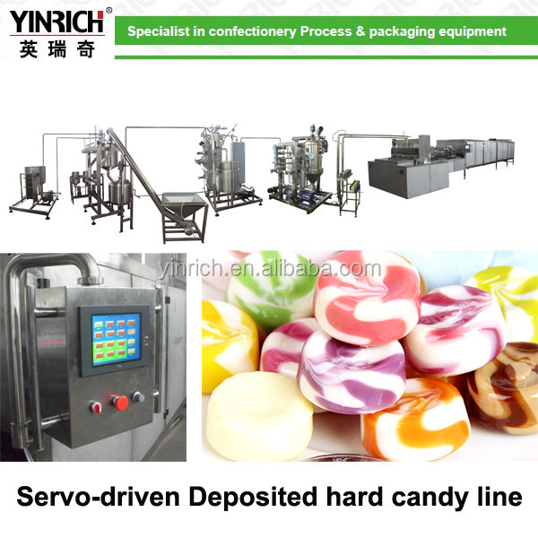 candy depositing production line
