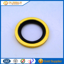 Ideal fittings standard Copper coated and galvanized NBR auto rubber washer