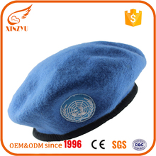 2016 wholesale fashionable men wool beret manufacturer of male beret