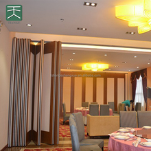 Banquet hall sliding soundproof folding movable partitions wall