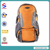 2015 nylon traveling backpack ventilate systerm hiking bag with rain cover
