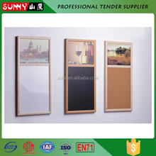 High quality decorative framed extra large rolled cork board
