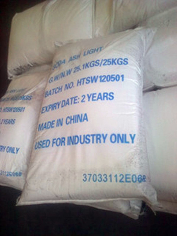 export all over the world soda ash dense