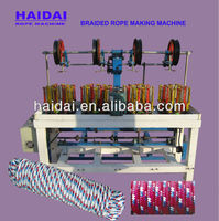 2013 Your best choice China the latest Plastic braided rope machine