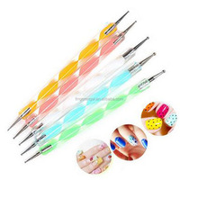 5pcs x 2 way Dotting Marbleizing Painting Pen Tool Nail Art, Dot Dotting nail Tools