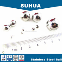china made all sizes G100 4.5mm chemical product casting stainless steel ball