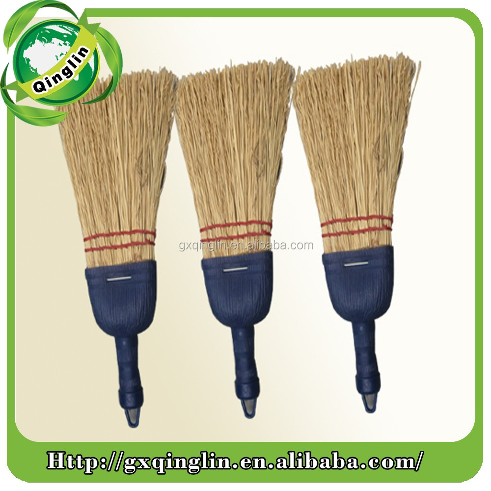 Corn or grass broom head for home and garden