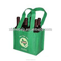 six bottles non woven wine bag with 100gsm non-woven fabric