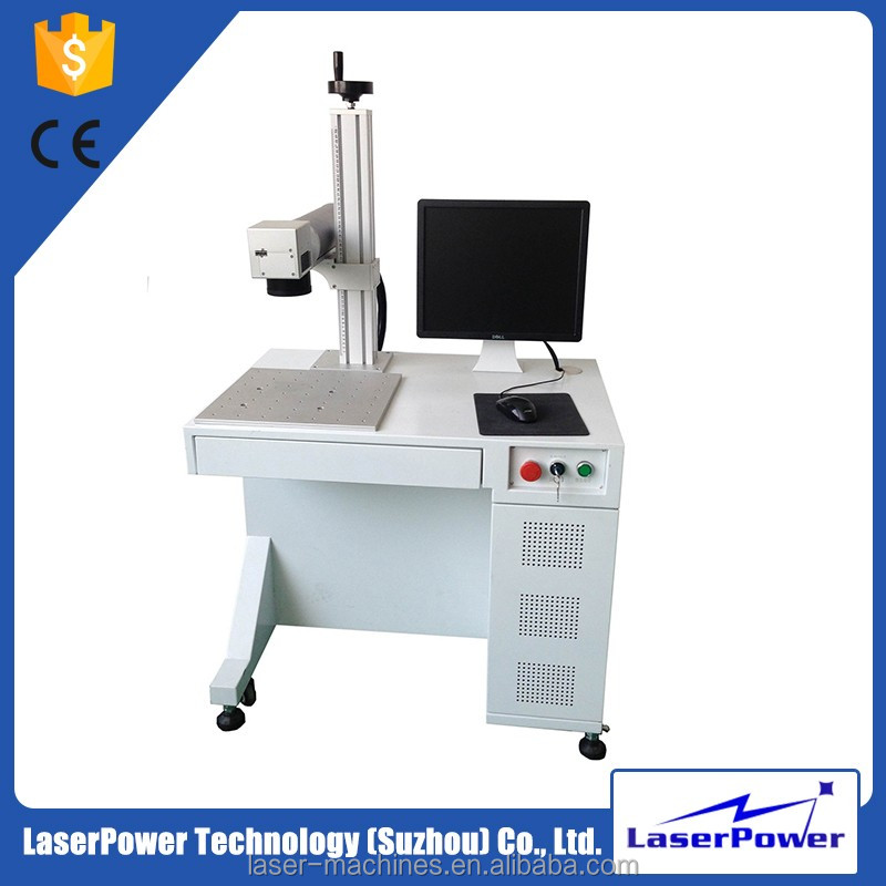 CE Approval Two Years Warranty Fiber Laser Marking Engraving Machine With Good Quality