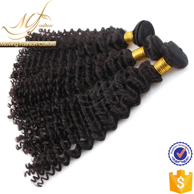 Easy to dye deep wave curly indian hair