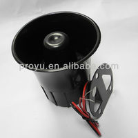 CE DC 12V Wired Alarm Siren