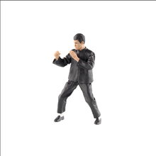 2018 new design Bruce lee figure with black cloths