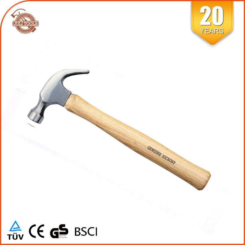 12oz Wooden Handle Mini Claw Hammer Factory