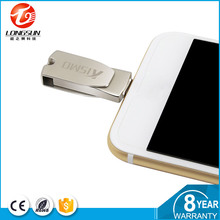 Cheap and GOOD quality mobile phone metal material pendrive,smart phone usb flash drive,OTG usb iStick for iPhone