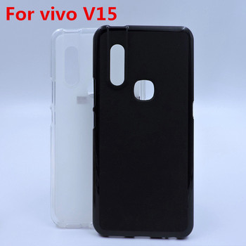 Soft Frosted Pudding TPU phone protective case cover for Vivo V15
