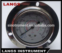 066 oil filled freon Pressure Gauge S.S.case oil quality pressure manometer manufacture