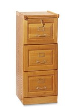 Office futniture 3 drawer wooden veneered hanging filing cabinet