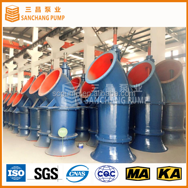 ZLB vertical axial propeller pumps with dry motor