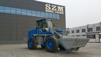 3 ton SZM top brand construction wheel loader for sale