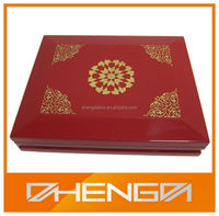 High Quality Customized Made-In-China Guangzhou Factory Elegant Velvet Wooden Essential oil Box(ZDL-WB297)