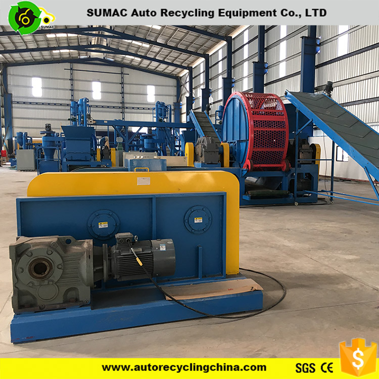 factory price recycle used tires equipments price