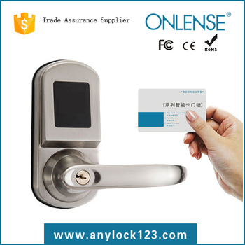 Intelligent electric school smart card lock on promotion